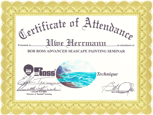 Bob Ross Advanced Seascape Painting
